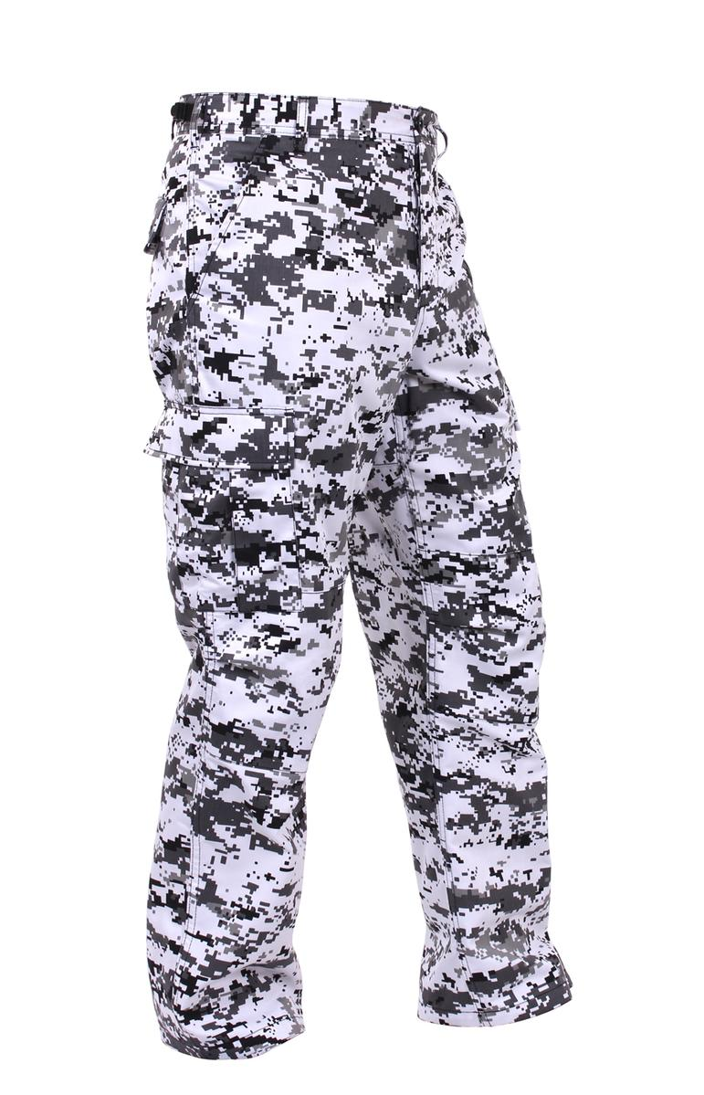 Military Style Digital Camo BDU Pants Military Fatigues City Digital Camouflage