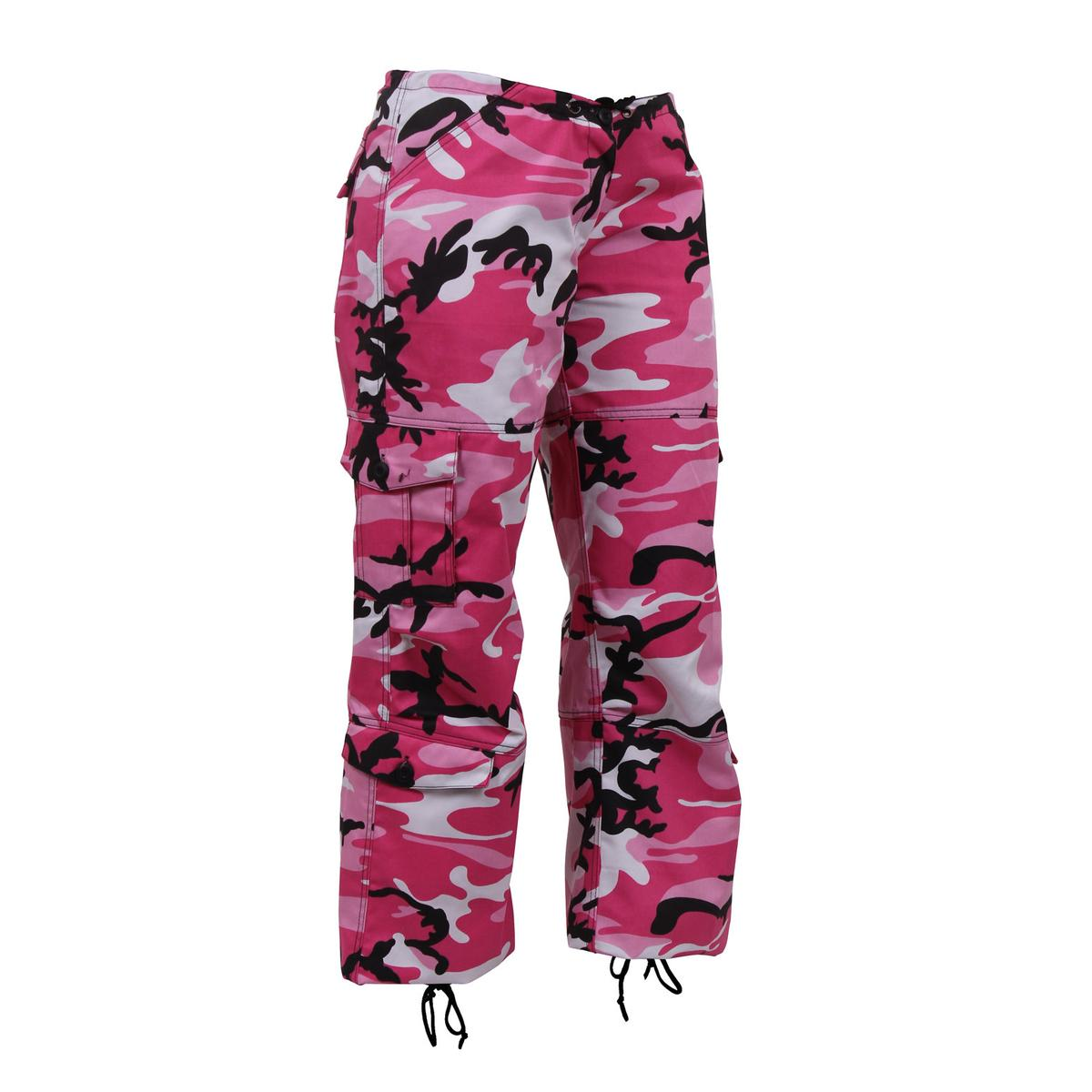 molto carino 71339 44e20 Details about Rothco Womens Paratrooper Colored Camouflage Fatigue Pants
