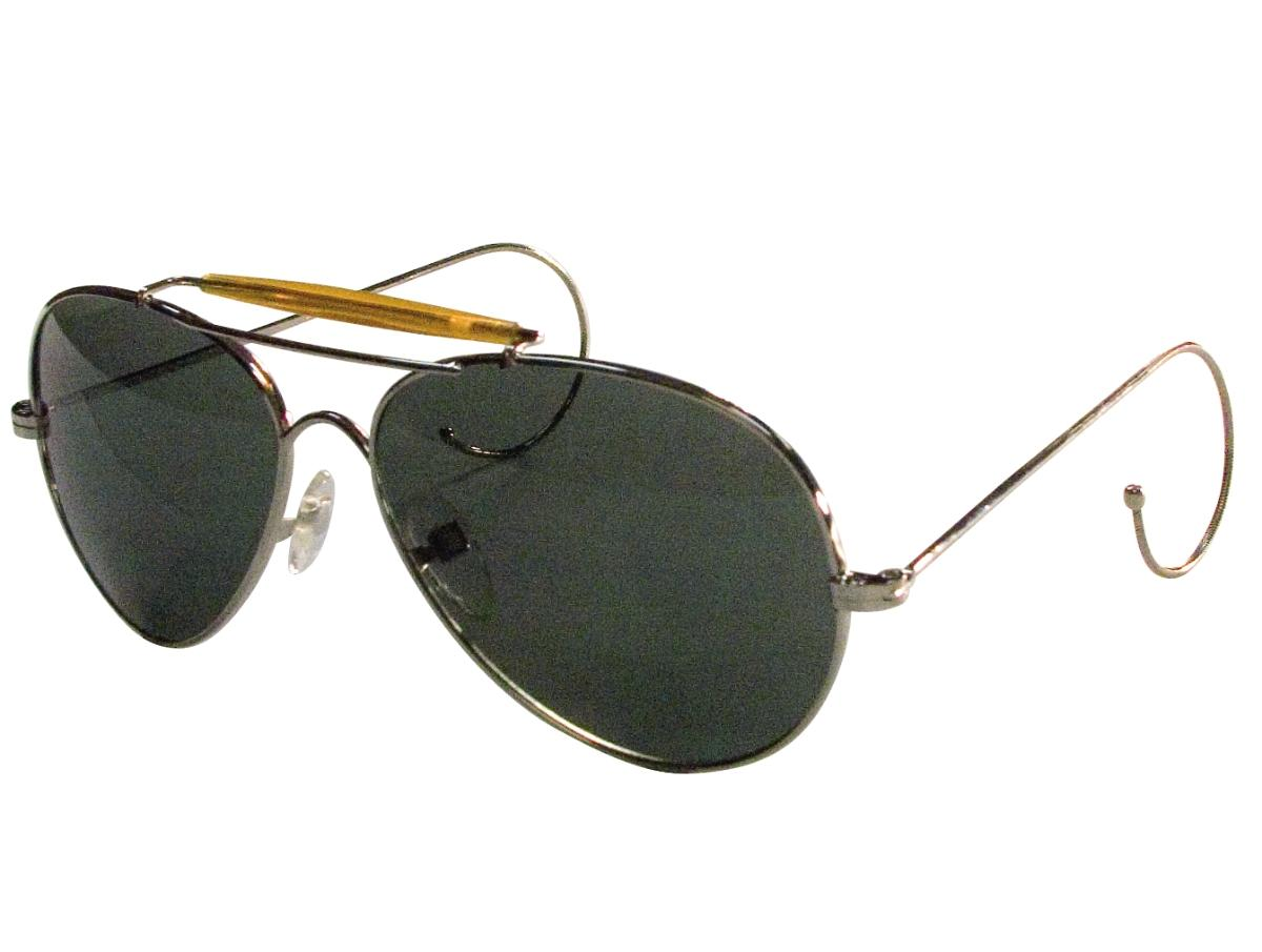 These are a classic Air Force style aviator sunglasses in a printed  mil-spec case. They re a favorite of police officers and pilots. A you can  see 67c02b331