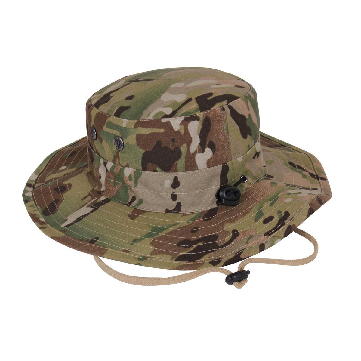 b6f413f1dccaa Rothco MultiCam Adjustable Boonie Hat