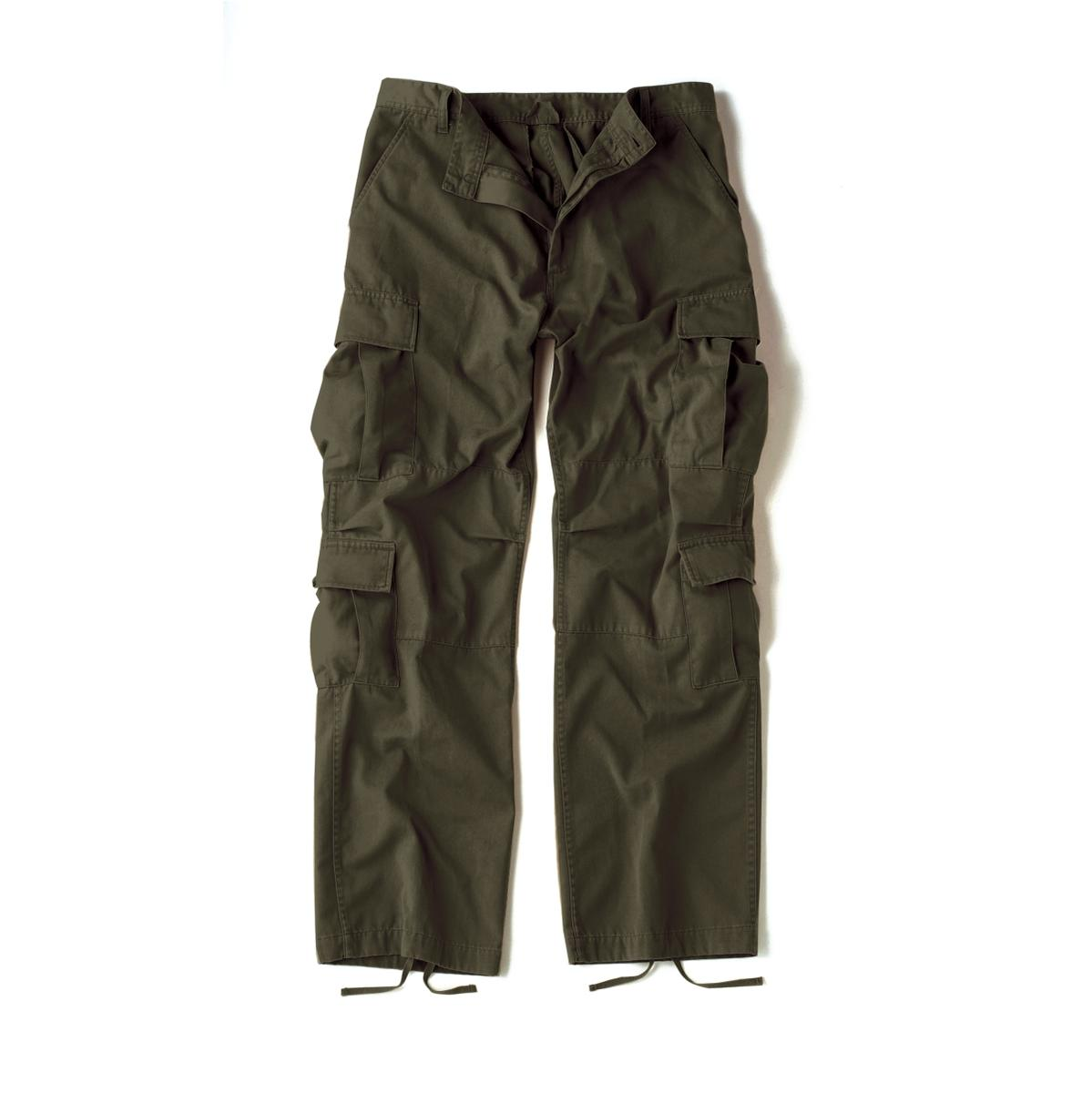 Details about Olive Drab Paratrooper Cargo Pants with 8 Pockets 1cb93f8c6ae