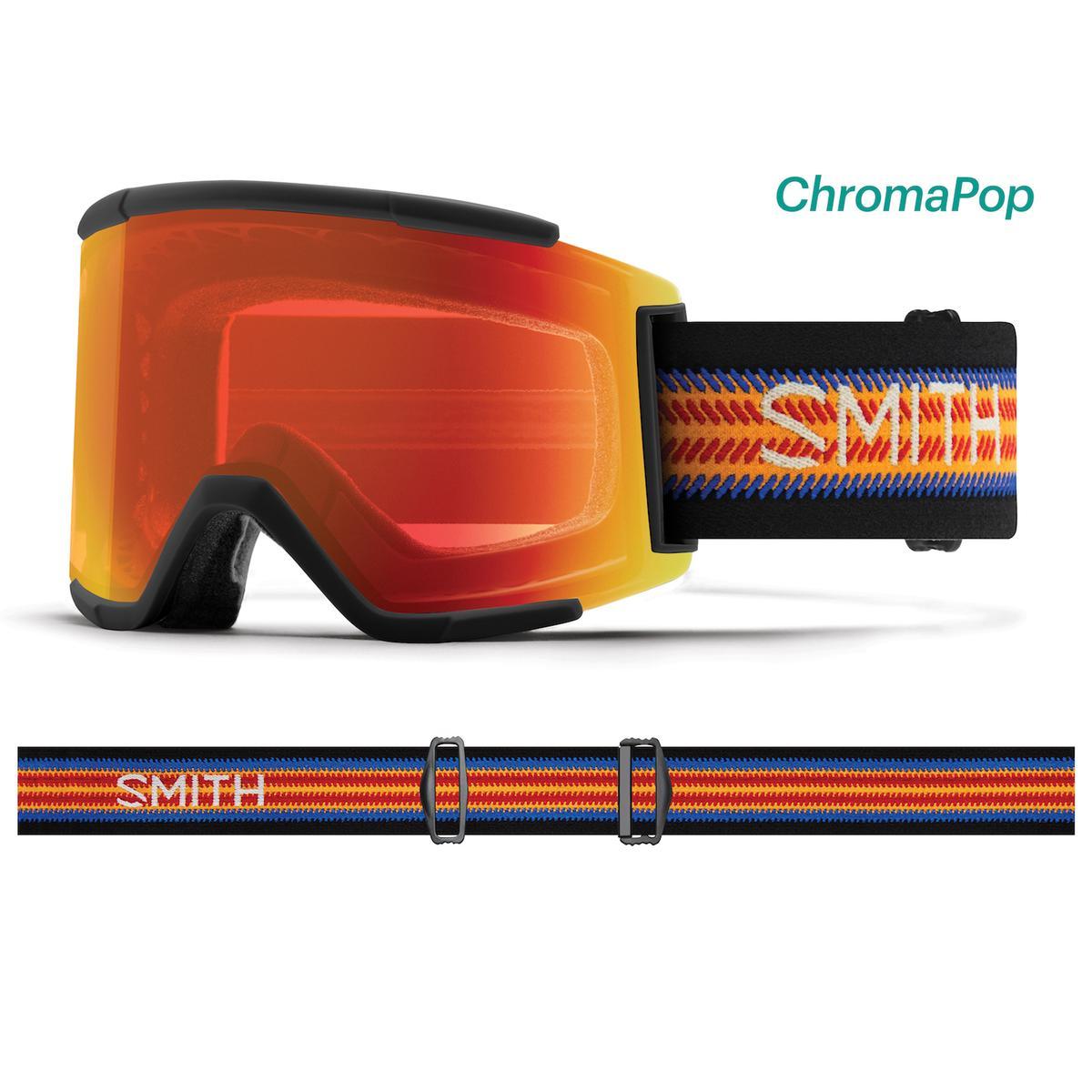 853a52df66b Smith Squad XL Chromapop Snowboard Goggle AC - Louif Paradis
