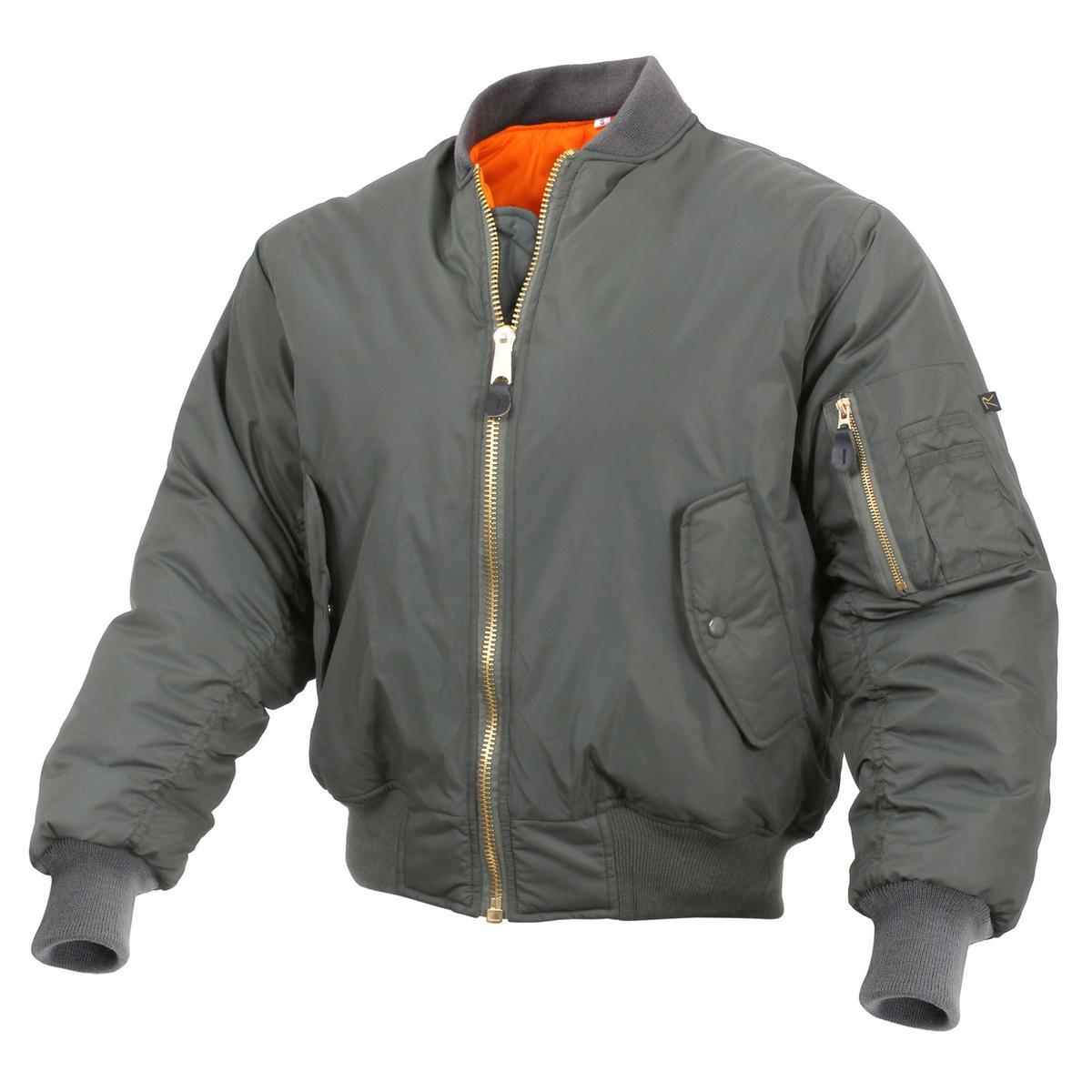849e4225b Rothco Enhanced Nylon MA-1 Flight Jacket