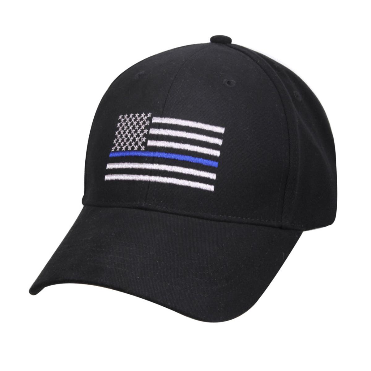 Details about Rothco Thin Blue Line Flag Low Profile Tactical Cap For  Police 126ba0fe646