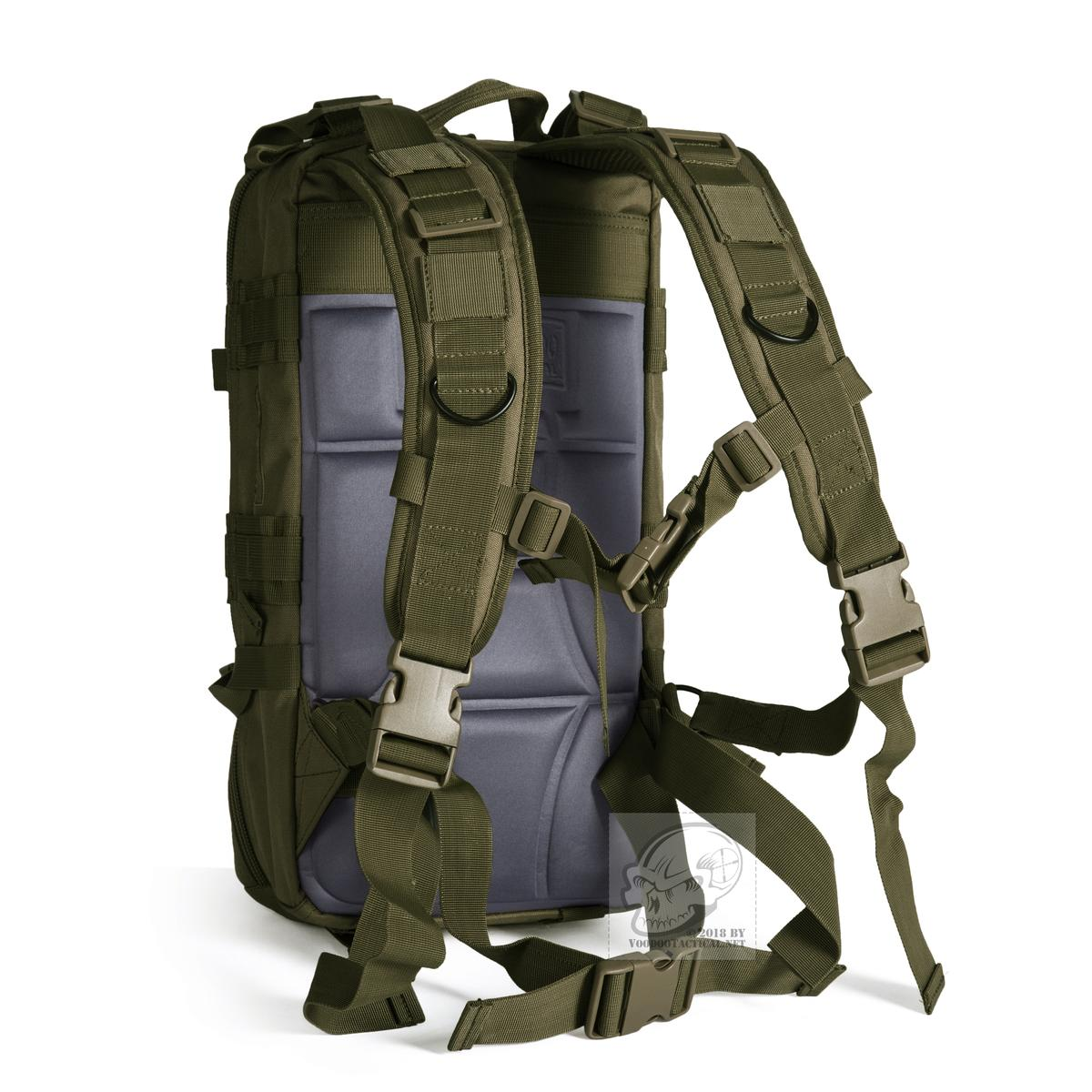 08bb56f33d15 Details about Voodoo Tactical 15-7436 Level II Assault Pack, MOLLE Backpack
