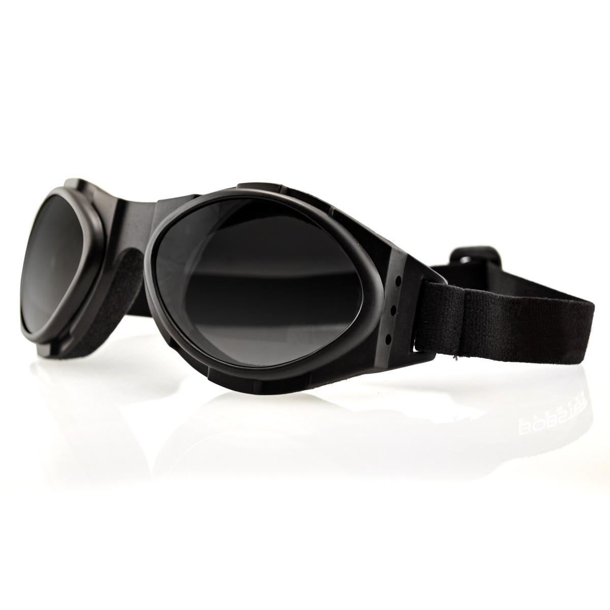 Bobster Eyewear PILOT Unisex-Adult Goggles Black Frame//Smoke Lens, One BPIL001