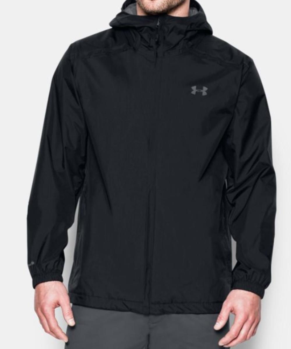 caad56686bf7 Details about Under Armour Storm Bora Men s Waterproof Rain Jacket