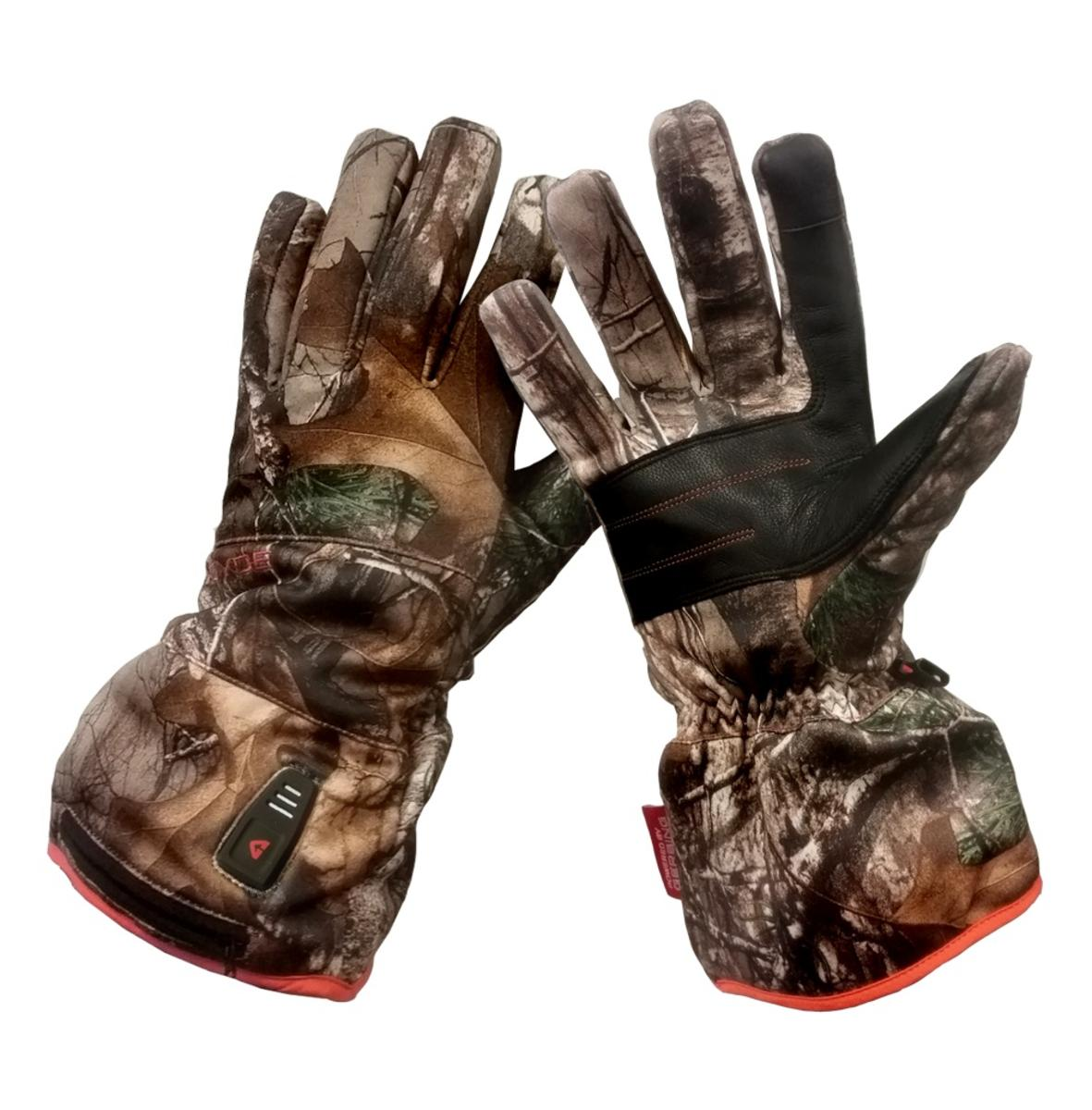 Charger Battery Operated Gerbing Mens Fleece Gloves with Battery