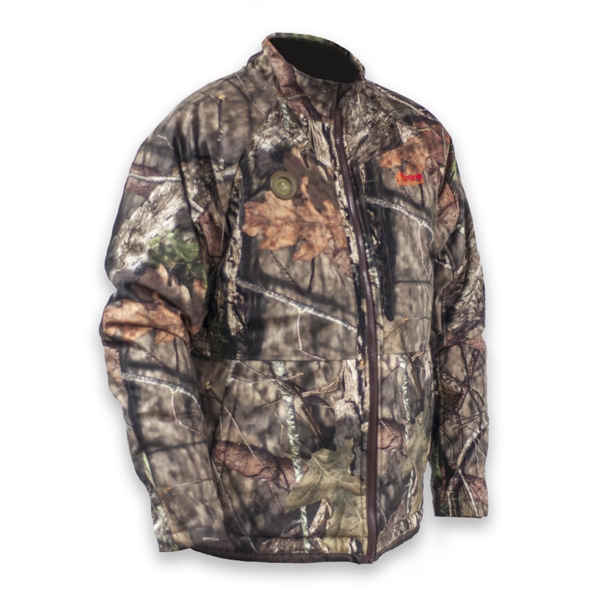 058cddd606e86 Details about MyCore Control Men's Heated Mossy Oak Break-Up Infinity Rut Season  Jacket